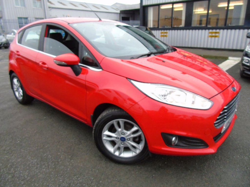 USED 2014 FORD FIESTA 1.0 ZETEC 5d 79 BHP £129 a month, T&Cs apply.