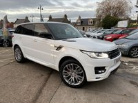 USED 2015 15 LAND ROVER RANGE ROVER SPORT 3.0 SDV6 AUTOBIOGRAPHY DYNAMIC 5d 306 BHP 1 owner from new {landrover dealer} 7 seater with many additional extras and full service history by landrover