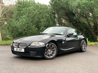 USED 2007 07 BMW Z4 3.0 Z4 SI SPORT COUPE 2d 262 BHP SOUGHT AFTER AND RARE SPORTS COUPE IN BLACK WITH BLACK LEATHER AND FSH