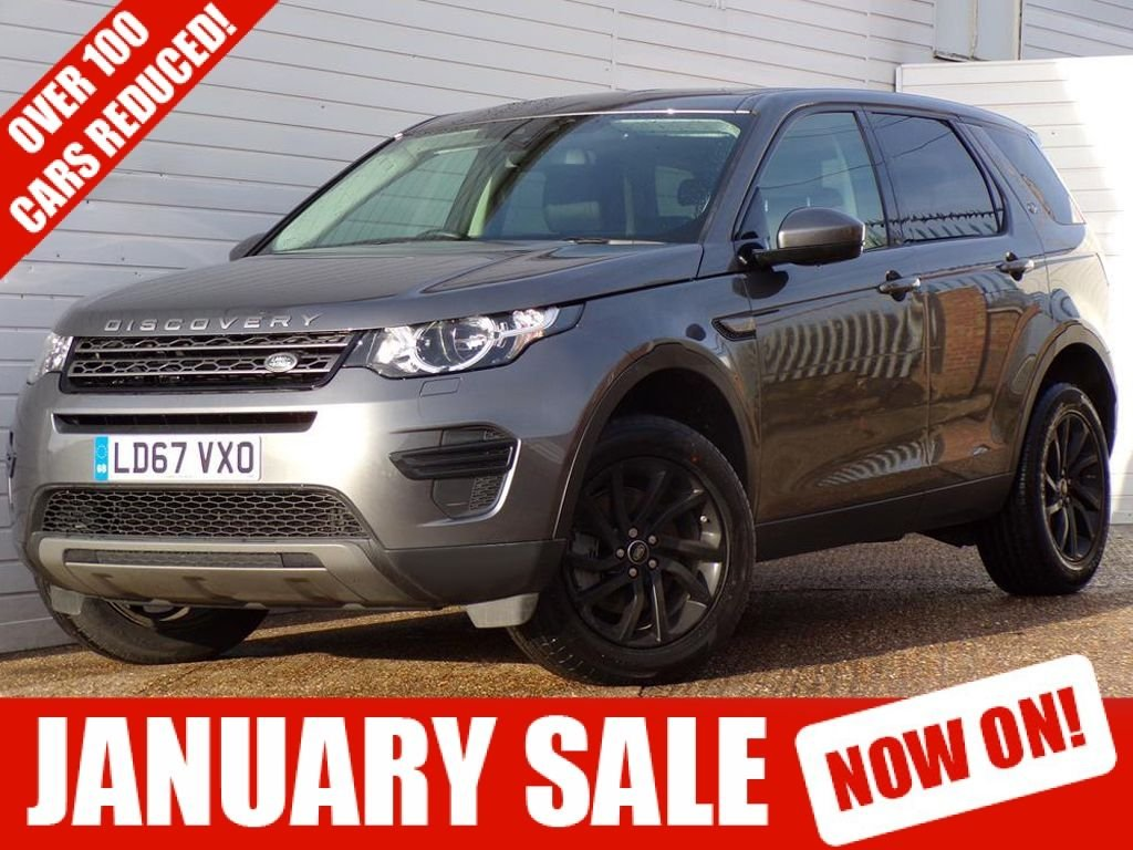 USED 2017 67 LAND ROVER DISCOVERY SPORT 2.0 TD4 SE 5d 180 BHP EURO 6 SAT NAV HEATED SEATS