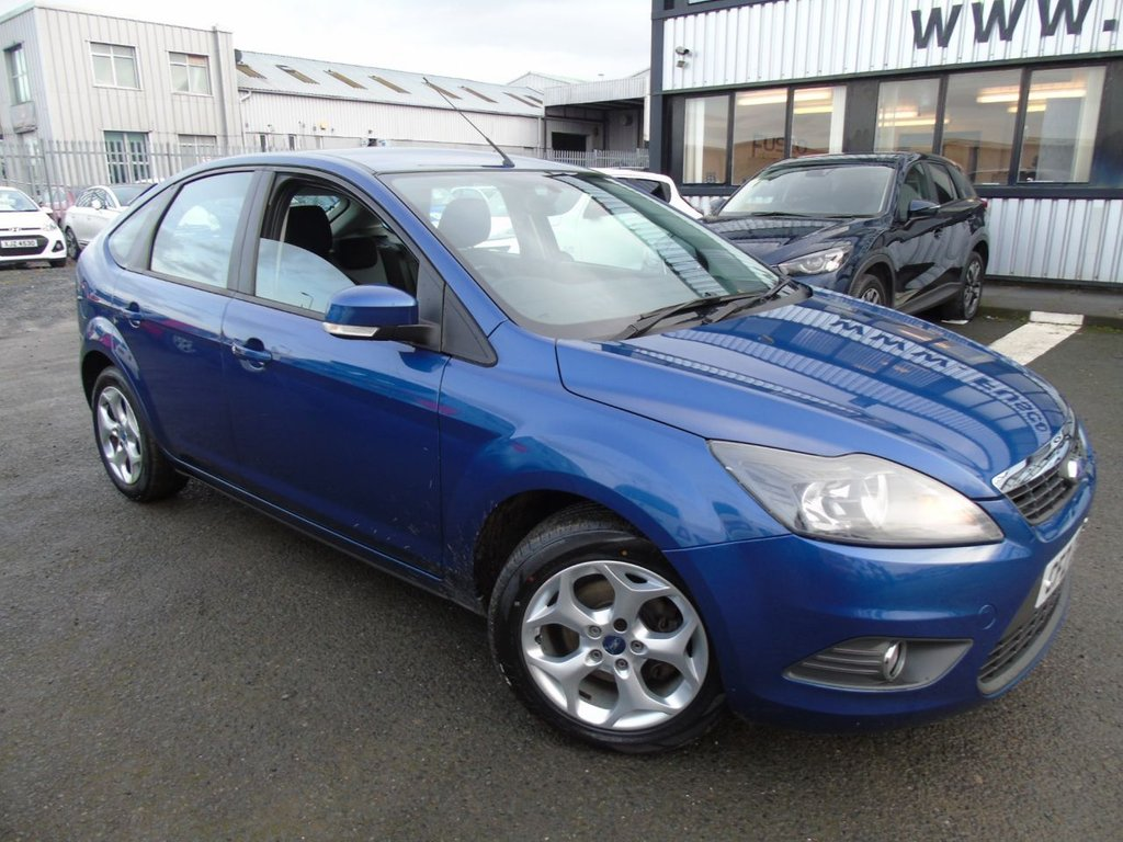 USED 2010 FORD FOCUS 1.6 ZETEC 5d 100 BHP £58 a month, T&Cs apply.
