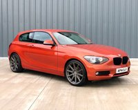 2014 BMW 1 SERIES 1.6 116D EFFICIENTDYNAMICS 3d 114 BHP £6850.00