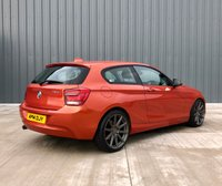 USED 2014 14 BMW 1 SERIES 1.6 116D EFFICIENTDYNAMICS 3d 114 BHP