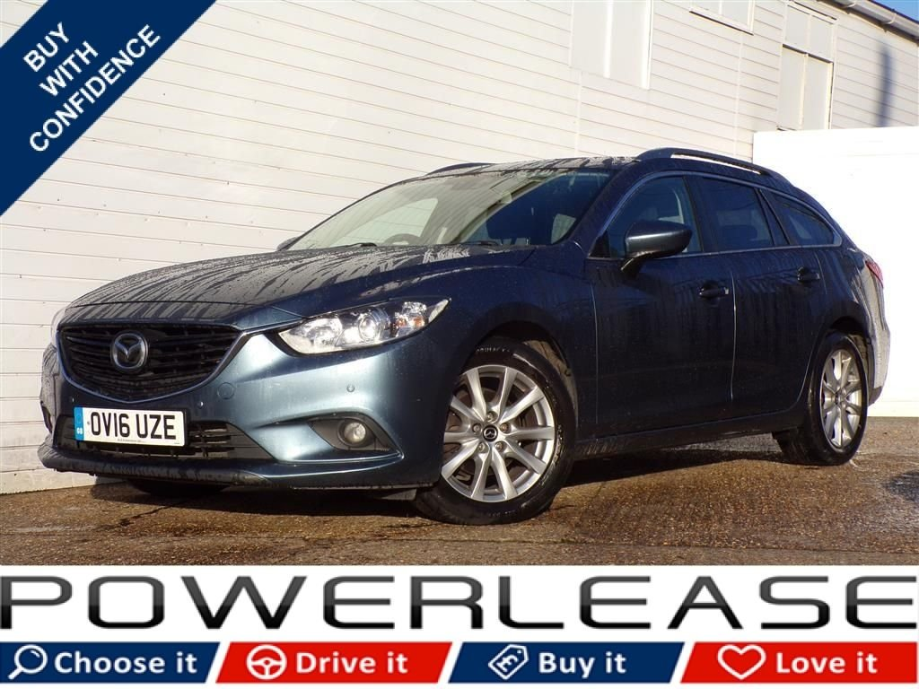USED 2016 16 MAZDA 6 2.2 D SE-L NAV 5d 148 BHP 20 POUND ROAD TAX EURO 6