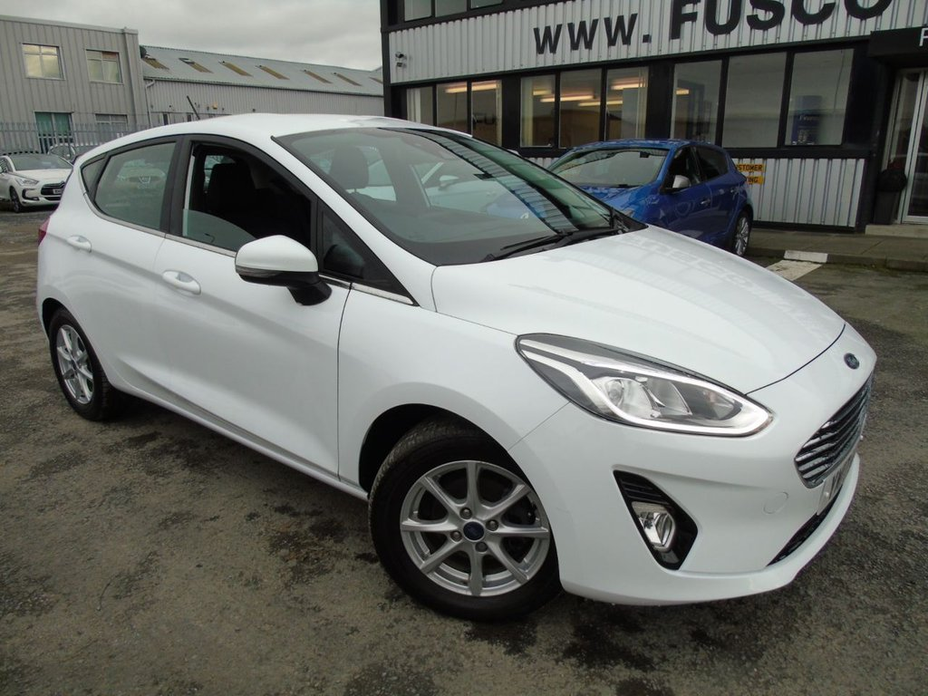 USED 2017 17 FORD FIESTA 1.1 ZETEC 5d 85 BHP £169 a month, T&Cs apply.