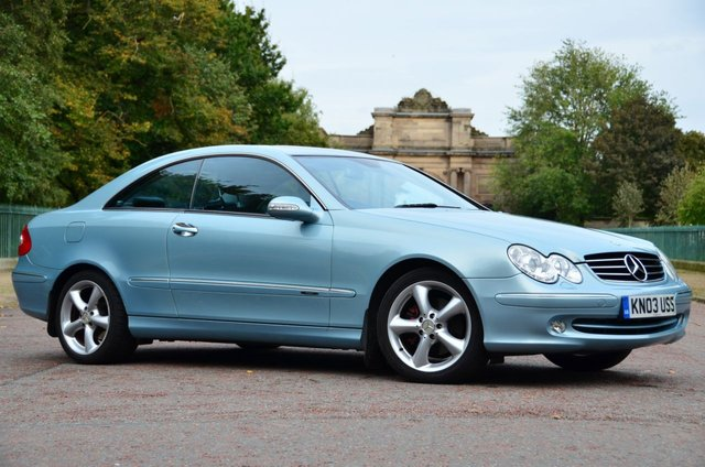 USED 2003 03 MERCEDES-BENZ CLK 3.2 CLK320 AVANTGARDE 2d 218 BHP