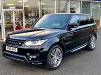 2016 LAND ROVER RANGE ROVER SPORT 3.0 SDV6 AUTOBIOGRAPHY DYNAMIC 5 DOOR LEATHER SAT NAV 306 BHP £39990.00