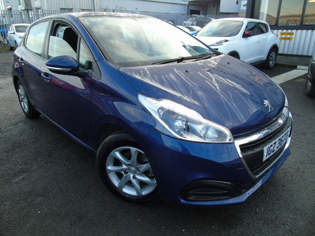 USED 2017 PEUGEOT 208 1.2 ACTIVE 5d 68 BHP £145 a month, T&Cs apply.