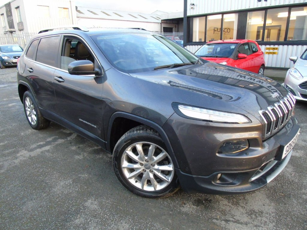 USED 2015 65 JEEP CHEROKEE 2.2 M-JET II LIMITED 5d 197 BHP £291 a month, T&Cs apply.