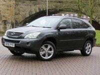 USED 2006 06 LEXUS RX 3.3 400H SE-L CVT 5d 208 BHP