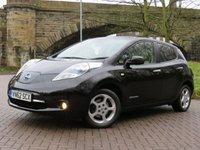USED 2012 62 NISSAN LEAF 0.0 EV AUTO 5d 107 BHP