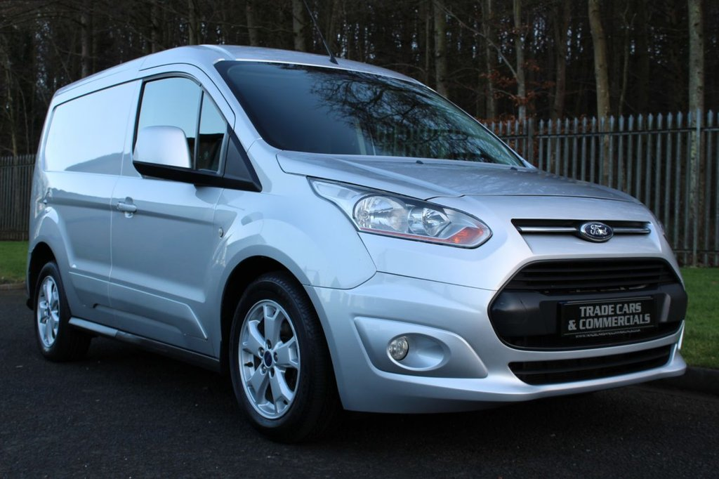 USED 2015 15 FORD TRANSIT CONNECT 1.6 200 LIMITED P/V 114 BHP A HIGH SPEC 3 SEAT SMALL VAN WITH NO V.A.T TO BE ADDED!!!