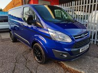 USED 2018 18 FORD TRANSIT CUSTOM 290 TREND COLOUR EDITION 2.0 170 PS *NO VAT* ONE OWNER - LIMITED EDITION WITH NO VAT TO PAY