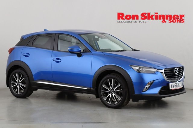 View our 2016 66 MAZDA CX-3 2.0 SPORT  5d 118 BHP