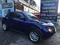 USED 2016 66 NISSAN JUKE 1.2 N-CONNECTA DIG-T 5d 115 BHP, only 24000 miles, Half Leather *** SAT NAVIGATION ***