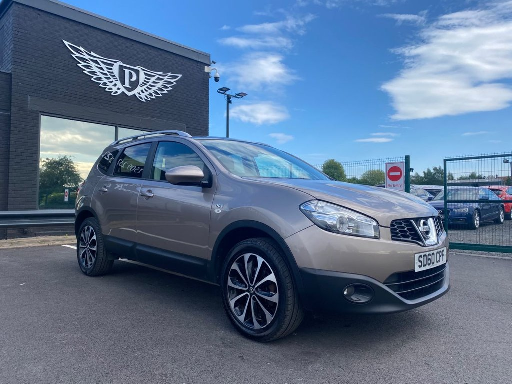 USED 2010 60 NISSAN QASHQAI+2 1.6 N-TEC PLUS 2 5d 117 BHP 7 SEATS Minimum 8 months MOT & Servicing and Pre-Delivery-Inspection Carried Out as neccesary Before Collection.