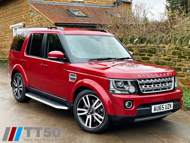 2015 65 LAND ROVER DISCOVERY 3.0 SDV6 HSE LUXURY 5d 255 BHP
