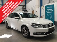 "USED 2012 12 VOLKSWAGEN PASSAT 2.0 SPORT TDI BLUEMOTION TECHNOLOGY 4d 139 BHP 330 RFL, Full Service History Inc Timing Belt Change, Satellite Navigation, Heated Seats, Rear Parking Sensors, Bluetooth Phone and Media, DAB Radio, Cruise Control, Auto Lights and Wipers, Tyre Pressure Sensors, 17"" Alloys"