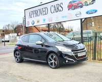 USED 2016 65 PEUGEOT 208 1.6 THP GTI PRESTIGE 3d 208 BHP SAT NAV, PART LEATHER HEATED SEATS, BLUETOOTH, AUX USB AND IPOD MEDIA CONNECTION