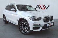 USED 2018 68 BMW X3 2.0 XDRIVE20D XLINE 5d 188 BHP