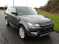 USED 2015 65 LAND ROVER RANGE ROVER SPORT 3.0 SDV6 HSE 5d 306 BHP LAND ROVER SERVICE HISTORY