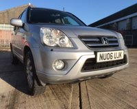 2006 HONDA CR-V I-VTEC EXECUTIVE £3750.00