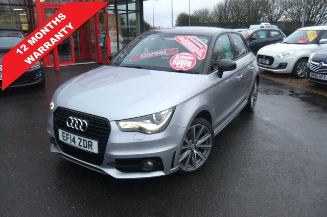 USED 2014 14 AUDI A1 1.6 SPORTBACK TDI S LINE STYLE EDITION 5d 103 BHP *****12 Months Warranty*****