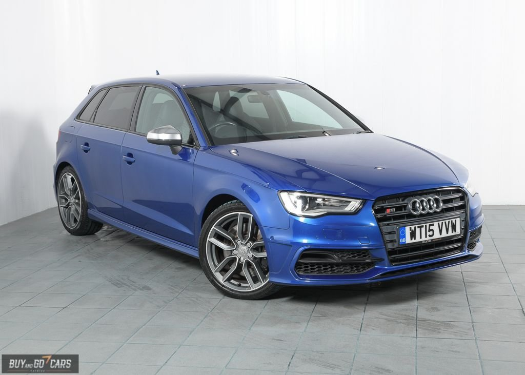 USED 2015 15 AUDI A3 2.0 S3 SPORTBACK QUATTRO 5d 296 BHP BUY NOW, PAY 2 MONTHS LATER
