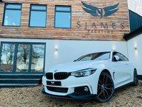 USED 2017 67 BMW 4 SERIES 2.0 420D XDRIVE M SPORT 2d AUTO 188 BHP