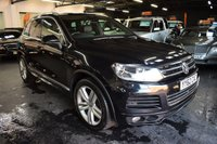 USED 2012 62 VOLKSWAGEN TOUAREG 3.0 V6 ALTITUDE TDI BLUEMOTION TECHNOLOGY 5d 242 BHP 10 STAMPS TO 97K - LEATHER - NAV - HEATED SEATS - 360 CAMERAS - ELECTRIC DEPLOYING TOWBAR