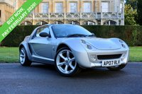 USED 2007 07 SMART ROADSTER 0.7 FINALE EDITION 2d AUTO 81 BHP