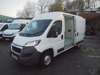 USED 2016 66 PEUGEOT BOXER 2.0 BLUE HDI 335 L2H2 PROFESSIONAL 130 BHP ( TEMPERATURE CONTROLLED FREEZER VAN )  ELECTRIC PACK, CRUISE CONTROL, BLUETOOTH, FINANCE AVAILABLE  PEUGEOT BOXER L2H2 PROFESSIONAL FREEZER VAN