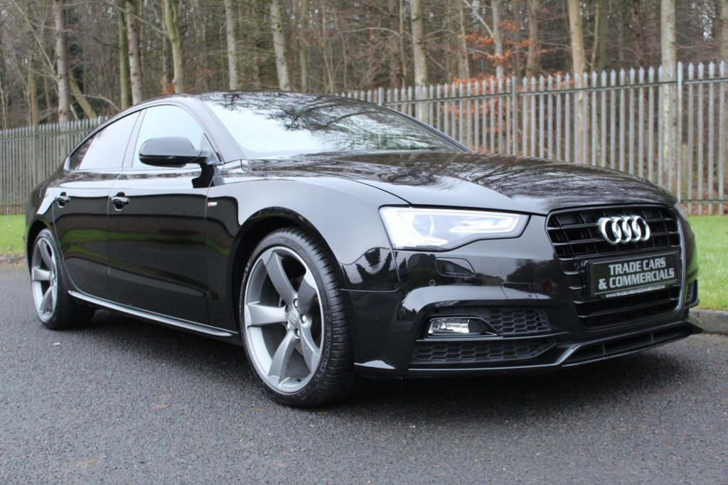 USED 2016 16 AUDI A5 2.0 TDI BLACK EDITION PLUS 5d 187 BHP A STUNNING HIGH SPEC A5 WHICH HAS HAD 1 COMPANY OWNER!!!