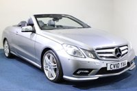 2010 MERCEDES-BENZ E CLASS 1.8 E250 CGI BLUEEFFICIENCY SPORT 2d 204 BHP £9500.00