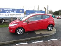 USED 2009 59 FORD FIESTA 1.2 ZETEC 3d 81 BHP 4 Stamps Of Service History. 3 Owner Car. New MOT & Full Service Done on purchase + 2 YEARS FREE MOT TEST & 2 YEARS FULL SERVICE'S INCLUDED. 3 Months Russell Ham Quality Warranty . All Car's Are HPI Clear . Finance Arranged - Credit Card's Accepted . for more cars www.russellham.co.uk  + Spare Key & Owners Book Pack.
