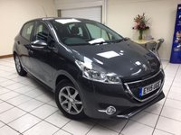 USED 2015 15 PEUGEOT 208 1.2 ACTIVE 5d 82 BHP MULTIPLE AIRBAGS / ISOFIX / AIRCON / DAB AUDIO / BLUETOOTH / SERVICE HISTORY / NEW MOT