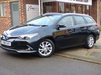2016 TOYOTA AURIS 1.6 D-4D BUSINESS EDITION TOURING SPORTS 5d 110 BHP SOLD