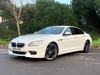 2013 BMW 6 SERIES 3.0 640D M SPORT GRAN COUPE 4d 309 BHP £15950.00