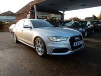 USED 2011 61 AUDI A6 2.0 AVANT TDI S LINE 5d 175 BHP SAT NAV,LEATHER,AIR CON,BLUETOOTH,CRUISE CONTROL,TWO KEYS