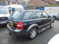 USED 2007 57 KIA SORENTO 2.5 XE 168 BHP FULL GREY LEATHER INTERIOR, SIDE STEPS, AIR CONDITIONING, ALLOYS, FULL SERVICE HISTORY ELECTRIC PACK, 2007 KIA SORENTO XE 2.5 DIESEL FULL SERVICE HISTORY