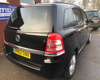 USED 2012 62 VAUXHALL ZAFIRA 1.7 EXCLUSIV CDTI 5d 123 BHP ONLY 27K MILES, 7 SEATER SEATS,DIESEL, SERVICE HISTORY