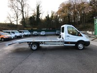 USED 2014 64 FORD TRANSIT 2.2 T350 VEHICLE TRANSPORTER 125PS *BRAND NEW BODY AND WINCH*