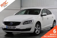 USED 2016 66 VOLVO S60 2.0 D2 BUSINESS EDITION 4d 118 BHP SATELLITE NAVIGATION + FULL VOLVO SERVICE HISTORY