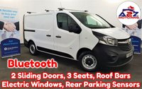 2016 VAUXHALL VIVARO 1.6 CDTi 2900 in White with 2 Sliding Doors, Bluetooth, Internal Racking, Rear Parking Sensors, Roof Bars, EX BT Vehicle £8480.00