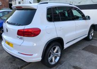 USED 2013 63 VOLKSWAGEN TIGUAN R-LINE 2.0 TDi BLUEMOTION TECH 5DR 140 BHP 4X4, HEATED LEATHER SEATS SELF PARK WITH FRONT/REAR SENSORS