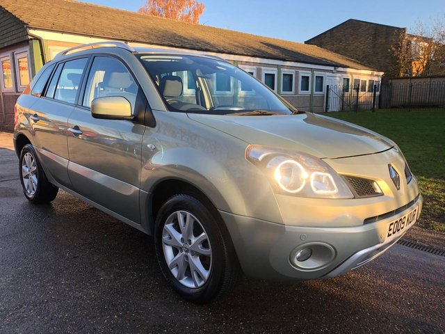 USED 2009 09 RENAULT KOLEOS 2.0 DYNAMIQUE S DCI 5d 150 BHP 4x4 + FULL SERVICE HISTORY + TWO OWNERS