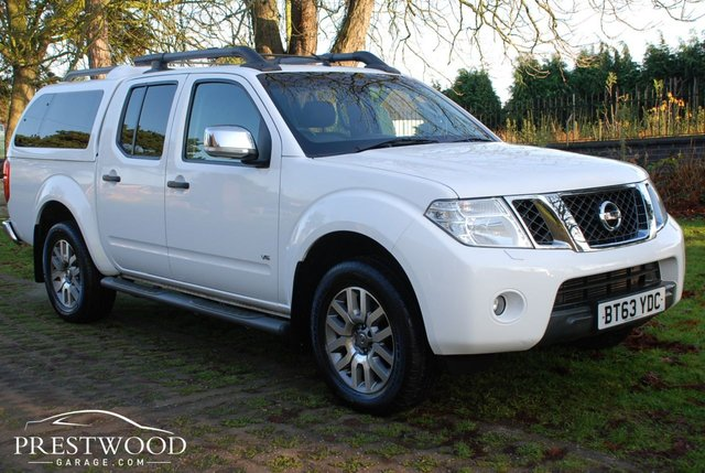 2013 63 NISSAN NAVARA 3.0 dCi V6 OUTLAW 4X4 DOUBLE CAB PICK-UP [230 BHP]
