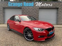 2015 BMW 3 SERIES 3.0L 330D M SPORT 4d AUTO 255 BHP £17250.00