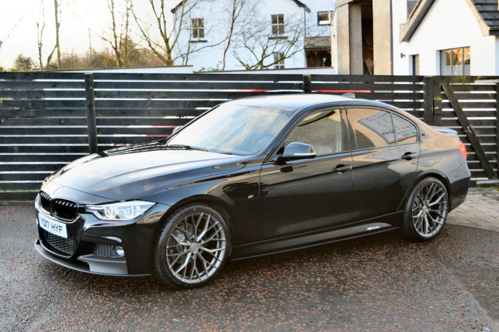USED 2017 17 BMW 3 SERIES 2.0 320D M SPORT 4d 190 BHP BALANCE OF BMW WARRANTY