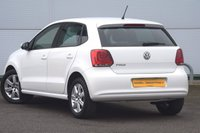 USED 2013 13 VOLKSWAGEN POLO 1.2 MATCH 5d 59 BHP FULL VW SERVICE HISTORY